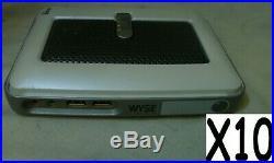 10 X WYSE SX0 S10 902110-02L Thin Client Terminals 649150-02L