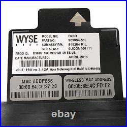 28x Dell Wyse DX0D D90D7 Thin Client 1.4 GHz No SSD No Ram 909634-51L with p/s