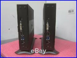2x Dell WYSE Zx0Q Thin Client, AMD GX-420CA 2.0GHz, 8GB RAM, 64GB SSD