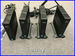 4 Dell Wyse DX0Q 5010 Thin Client 1.5GHz 4GB RAM 32GB Flash Win10 Enterprise
