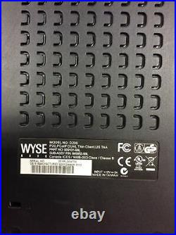 4x BRAND NEW Wyse D200 P20 PCoIP Dual Thin Client Terminal withAC Adapter/Keyboard