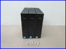 5x Dell Wyse Z90D7 Zx0 Thin Client AMD G-T56N 1.65GHz 2GB RAM 16GB FLASH