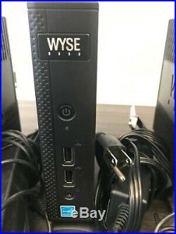 Bundle of 7 WYSE Thin Client D90D7, Windows Embeded Standard 7