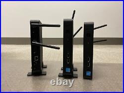 DELL N06D 3030 WYSE THIN CLIENT N2807 1.58GHZ 2GB SSD-eMMC CARD-4GB LOT OF 3