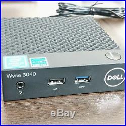 DELL Thin Client Wyse 3040 Quad Core Atom x5 Z8350 2GB 8GB MFG YR 2018
