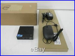Dell 456M3 Wyse 3040 Thin Client DTS Atom x5 Z8350 1.44GHz 2GB 8GB FLASH
