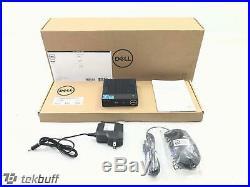 Dell (7MX4G) Wyse 3040 Thin Client DTS Atom x5 Z8350 1.44GHz 2GB 8GB Thin OS