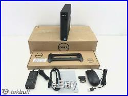 Dell WYSE 7020 Thin Client AMD G-Series 2.0GHz 4GB 32GB Flash W10 IoT (THG0W)