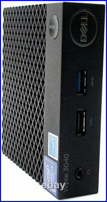Dell Wyse 3040 Intel Atom x5-z8350 1.44Ghz 2GB 8GB Wifi non-PCoIP Thin Client OS