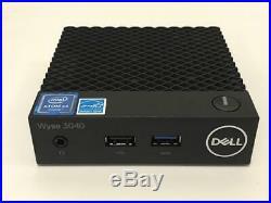 Dell Wyse 3040 Thin Client Atom x5 Z8350 1.44GHz 2GB 8GB 3C8N9