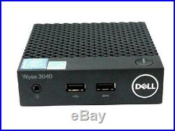 Dell Wyse 3040 Thin Client ThinOS Intel Atom 1.44GHz 2GB RAM 16GB SSD WIFI RJ45
