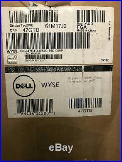 Dell Wyse 5040 AIO Thin Client 21.5 1.4Ghz 2GB RAM 8GB Flash RAM 47GTD