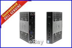 Dell Wyse 5060 Thin Client AMD GX-424CC 2.4GHz 4GB RAM 64GB SSD RJ-45 WIFI 6574H