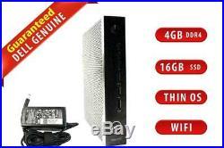 Dell Wyse 5070 Thin Client Intel Celeron 1.5GHz 4GB DDR4 16GB SSD ThinOS WIFI