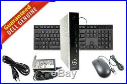 Dell Wyse 5070 Thin Client Intel Celeron J4105 4GB DDR4 8GB SSD Ubuntu V49TV