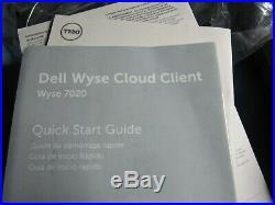 Dell Wyse 7020 Thin Client ZX0Q #08WF82 CN-08WF82-74