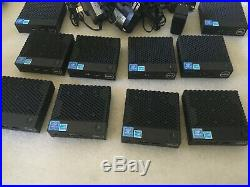 LOT (10) Wyse 3040 Thin Client. 2GB. 8GB with Power Supply