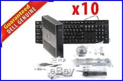 LOT OF 10 Dell Wyse 5060 Thin Client AMD GX-424CC 2.4GHz 4GB RAM 8GB SSD Thin OS