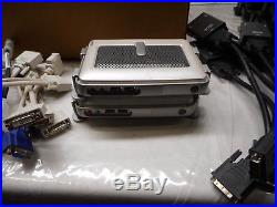 LOT OF 16 WYSE CX0 & SX0 Thin Client PC with Accessories See Description