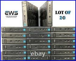 LOT OF 20 DELL WYSE Dx0D THIN CLIENTID- 5010 / AMD 1.4CPU / 8GB FD / 2GB RAM