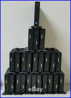 LOT OF 24 DELL WYSE Dx0D THIN CLIENT 2GF/2GR, 2GB FLASH, 2GB RAM