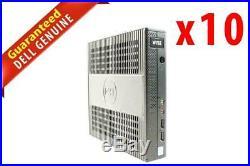 LOT x10 Dell Wyse 7010 Thin Client AMD G-T56N 1.65GHz 2GB RAM 8GB SSD WIFI 6KC5H