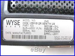 Lot 20 Wyse 902196-01L Thin Client C00X 128F/512R Xenith US Cx0 849225-01L