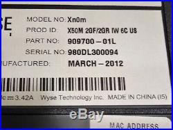 Lot 5 Wyse Dell Xn0m 14 Thin Client Laptop AMD G-T56N 1.65GHz 2GB RAM NO HDD