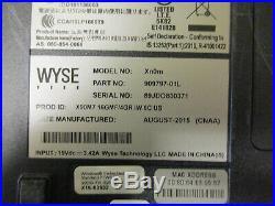 Lot 7 Wyse Dell Xn0m 14 Thin Client Laptop AMD G-T56N 1.65GHz 4GB RAM NO HDD