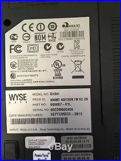 Lot 9 Wyse Dell Xn0m 14 Thin Client Laptop AMD G-T56N 1.65GHz 2GB RAM NO HDD