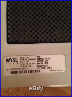 Lot Of 10 Wyse Vx0 Thin Client Terminal V10L WTOS 800M 128/256 With A/C Adapter