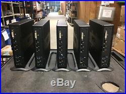 Lot Of 5 Wyse Zx0 AMD G-T56N @ 1.60GHz 4GB Ram 8GB Flash Thin Client Computers