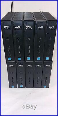 Lot of 10 Dell Wyse Dx0D / D90D7 4GF/2GR IW 909634-51L Thin Client