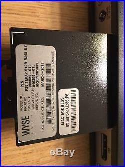 Lot of 10 Wise Dell Thin Client PxN P25 TERA2 512R RJ45 US 909569-01L 849306-01L