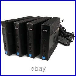 Lot of 12 Dell 7JC46 Wyse DX0Q 5020 Thin Client QC GX-415GA 1.5GHz 4GB 32GB SSD