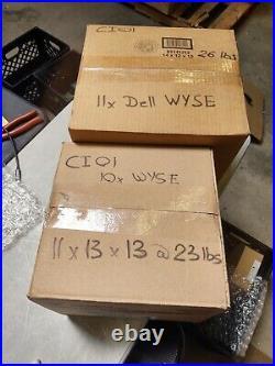 Lot of 21x Dell Wyse Dx0D Thin Client D10D 2GF/2GR Grade A