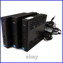 Lot of 3 Dell H0C1T Wyse N07D 5060 Thin Client QC GX-424CC 2.4GHz 4GB 64GB SSD