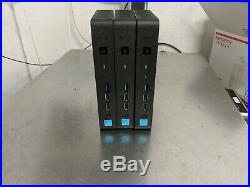 Lot of 3 Dell Wyse N06D 3030 Thin Client Intel Celeron CPU Dual core WTX9K