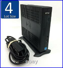 Lot of 4 Dell Wyse 7020 Thin Client 2GHz 80-120GB SSD 4GB RAM NO OS