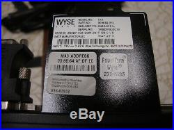 Lot of 5 Wyse Dell ZX0 Z90D7 Thin Client Stand & Power Supply