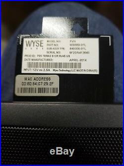 Lot of 50 WYSE Dell Thin Client PxN P25 TERA2 512R RJ45 US 909569-01L 849306-01L