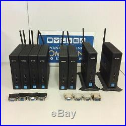 Lot of (8) Dell Wyse Dx0D Thin Client D90D7 16GB Flash 4GB RAM WS7E