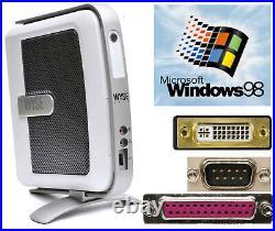 Mini Computer Wyse V90L Windows 98 With RS-232 Serial Lpt Parallel DVI USB #TC60