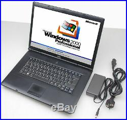 Mobile Thinclient Notebook Wyse with 39cm 15.4 TFT Xnol X90le Windows 2000