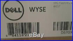 NEW DELL WYSE 3030 D57GX Thin Client Celeron N2807 16 GB FLASH, 4 GB RAM, WES7