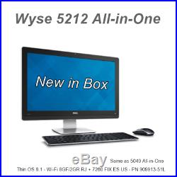 NEW Dell Wyse 5212 All-in-One Thin Client ThinOS 8 WIFI 909913-51L same as 5040