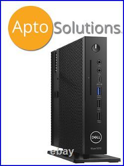(New) Dell 5070 Wyse Thin Client Celeron J4105, 4GB RAM, 16GB eMMC, witho wifi