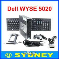New Dell WYSE 5020 Thin Client D90Q7 4GR 16GF Quad Core 1.5GHz WES7 DX0Q