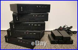 (Qty 5) Dell Wyse Thin Client Zx0 7010 Z90D7 AMD G-T56N 1.65GHz 2GB RAM 8GB SSD