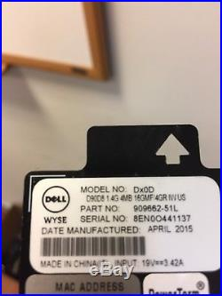 Set of 10 Dell Wyse D90D8 (Dx0D) Thin Client 1.4 GHz 16GB Flash 4GB RAM